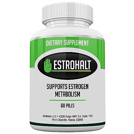 Estrohalt- Mejores píldoras bloqueadoras de estrógenos para mujeres y hombres con DIM e indol-