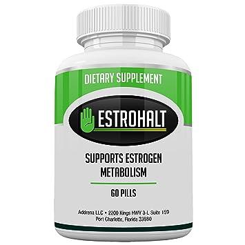 Estrohalt- Mejores píldoras bloqueadoras de estrógenos para mujeres y hombres con DIM e indol-3-carbinol | Suplementos naturales de vitamina A inhibidores ...