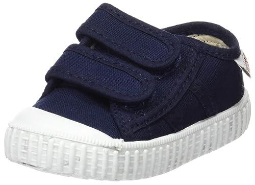 Victoria Basket Lona Dos Velcros, Zapatillas Unisex bebé