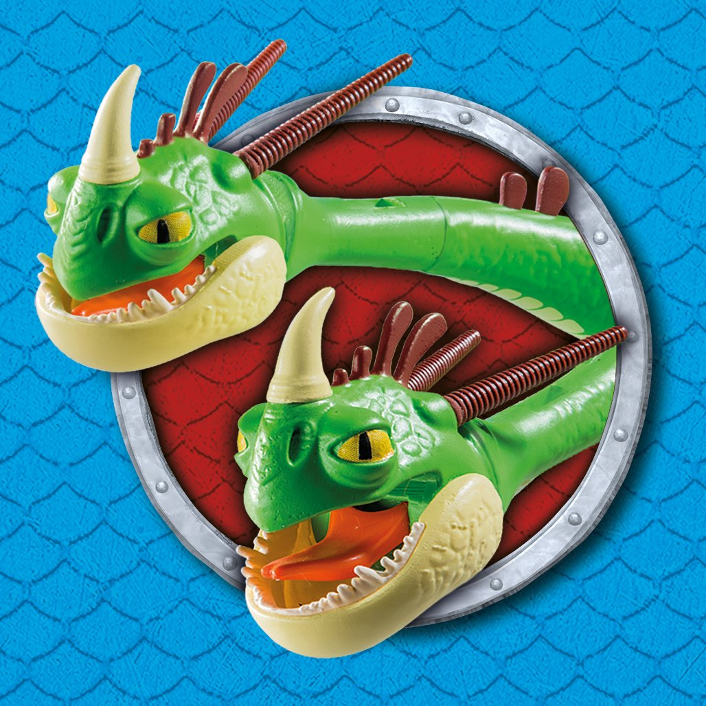 How to Train Your Dragon Twins with Barf and Belch by Playmobil (Image #6)
