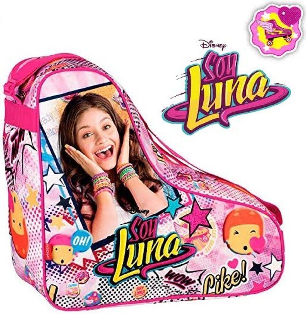 Soy Luna – Bolsa de deporte para patines, incluye 1 collar Soy ...