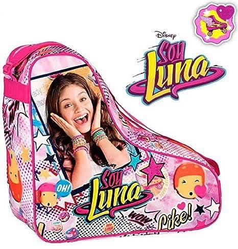Soy Luna – Bolsa de deporte para patines, incluye 1 collar ...