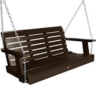product image for Highwood AD-PORW2-ACE Weatherly Porch Swing, 4 Feet, Weathered Acorn