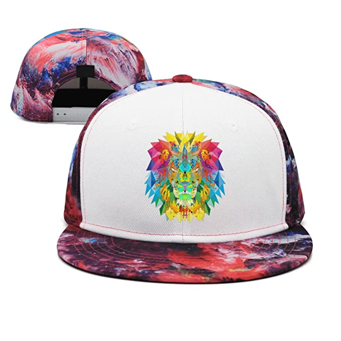 Unisex The Lion King Coloring Breathable Quick Dry Snapback Trucker ... 8964c8044b7