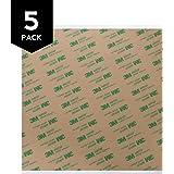 "Gizmo Dorks 3M 468MP Adhesive Transfer Tape Sheets 8"" x 8"" (5-Pack)"