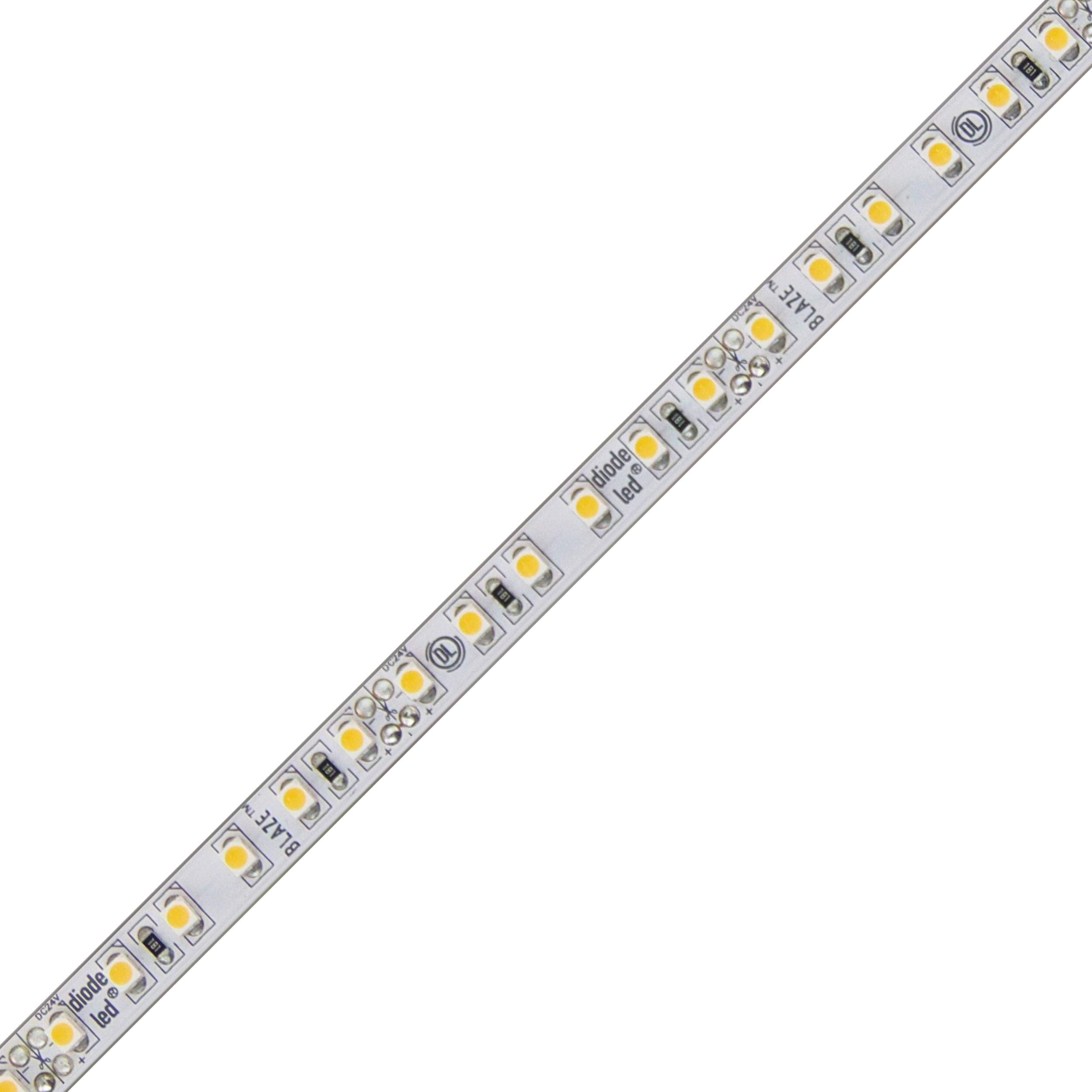 Diode LED Blaze LED Tape Light 24V 3300K 94 CRI 100ft 2.88W/ft