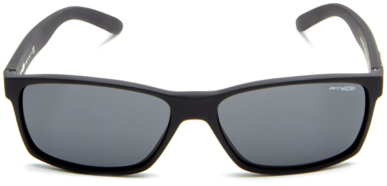 Arnette Mens Slickster AN4185-08 Rectangular Sunglasses