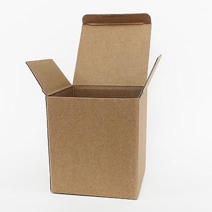 simplyislam.com Juego de 25 tazas de cartón – caja de cartón taza correo regalos