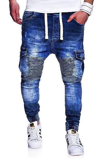 Entdecken Sie die neuesten Trends hochwertige Materialien später MT Styles Biker Jogging-Jeans Ment Trousers RJ-2271: Amazon ...