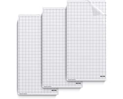Nicapa StandardGrip Cutting Mat for Silhouette Cameo 3/2/1 (12x24 inch,3 Mats) Standard Adhesive Sticky Quilting Cricket Cut