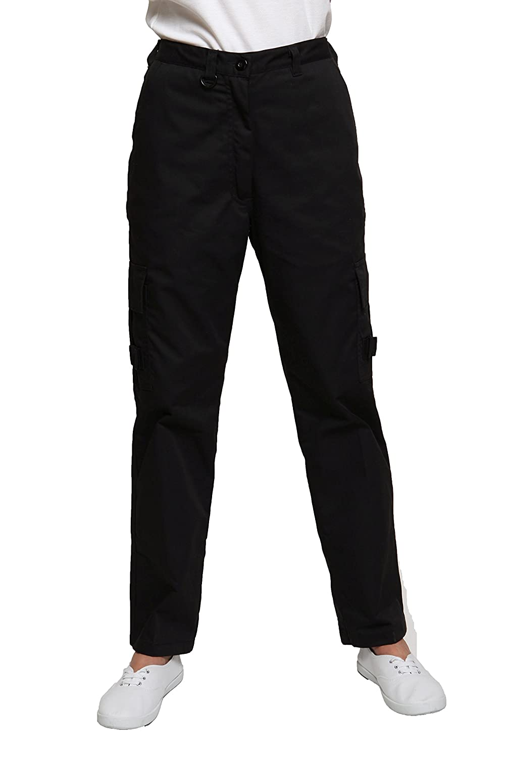 Ladies Cargo Combat Work Trousers Size 8 to 22 By SITE KING ...