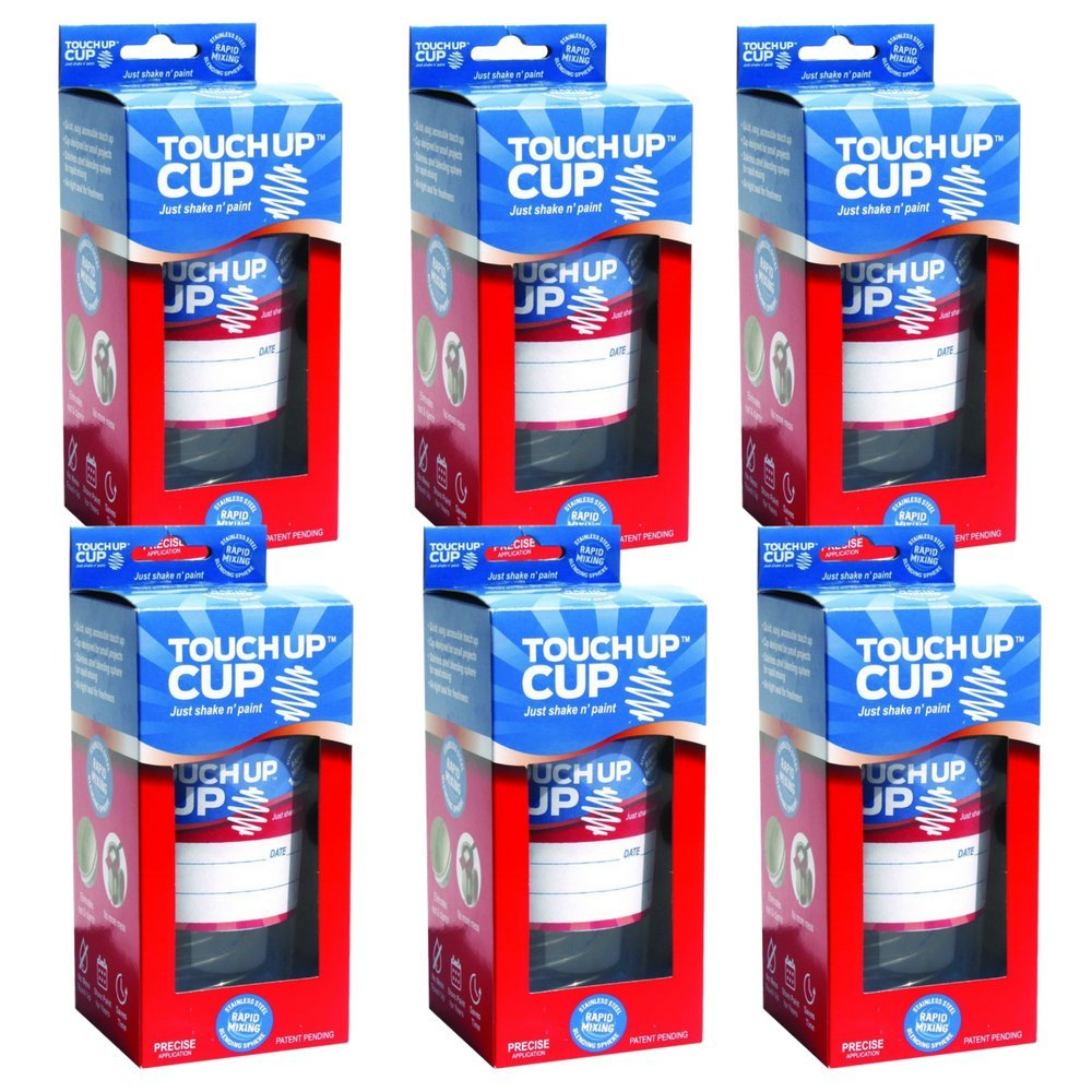 Touch Up Cup | Just Shake n' Paint - Six Pack