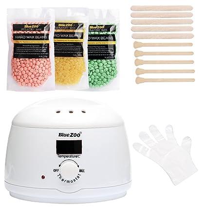 Kit de depilación hair removal waxing kit, cera depilatoria en perlas depilación cera en perlitas