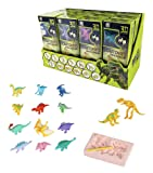 12 Pack Dinosaurs Assortment Skeleton 3D Dino Fossil Excavation Science Kits for Party Favors (Set of 12)