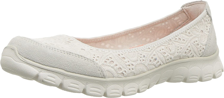 Skechers Women's Ez Flex 3.0-Be You Sneaker B07BY7J316 7.5 B(M) US Natural