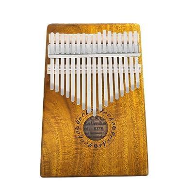 KOA Tone Wood 17 touches kalimba, haute qualité professionnelle acoustique doigt piano instrument cadeau