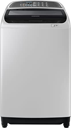 Samsung WA90J5710SG/TL Fully-automatic Top-loading Washing Machine (9 Kg, Silver)