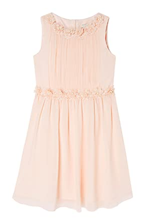 Lipsy Girl Layla Pearl Prom Dress - Beige - Age 12