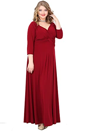 Damen Kleid Abendkleid Empire MAXI Designer Cocktailkleid ...