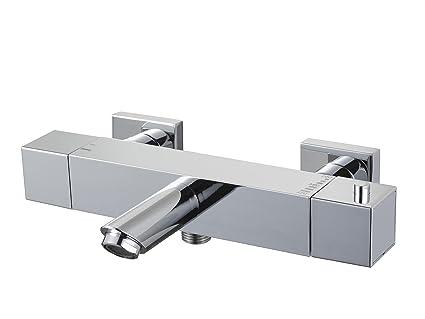 Vasca Da Bagno Metallo : Haceka rubinetto per vasca da bagno con termostato serie mezzo