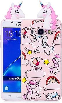 OnlyCase Funda Samsung Galaxy J5 2016,3D Cartoon Carcasa,TPU Suave ...