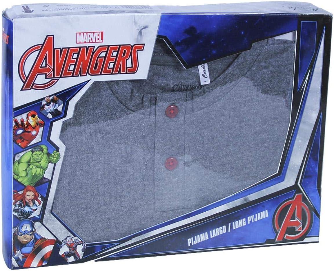ARTESANIA CERDA Pijama Largo Poly Avengers Pigiama Bambino