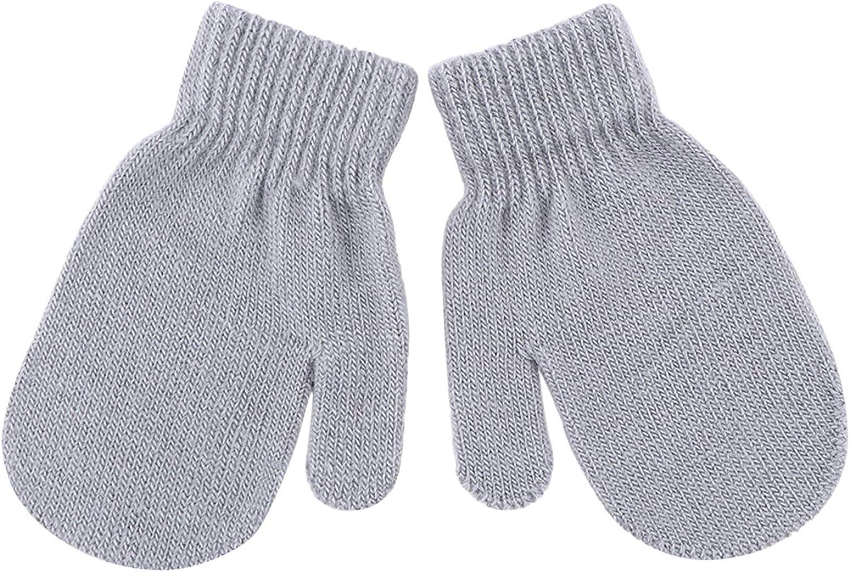 De feuilles Baby Handschuhe Sets 6 Paar Unisex Kinder S/ü/ß Stern Herz Strick F/äustel f/ür 1-4 Jahre Alt