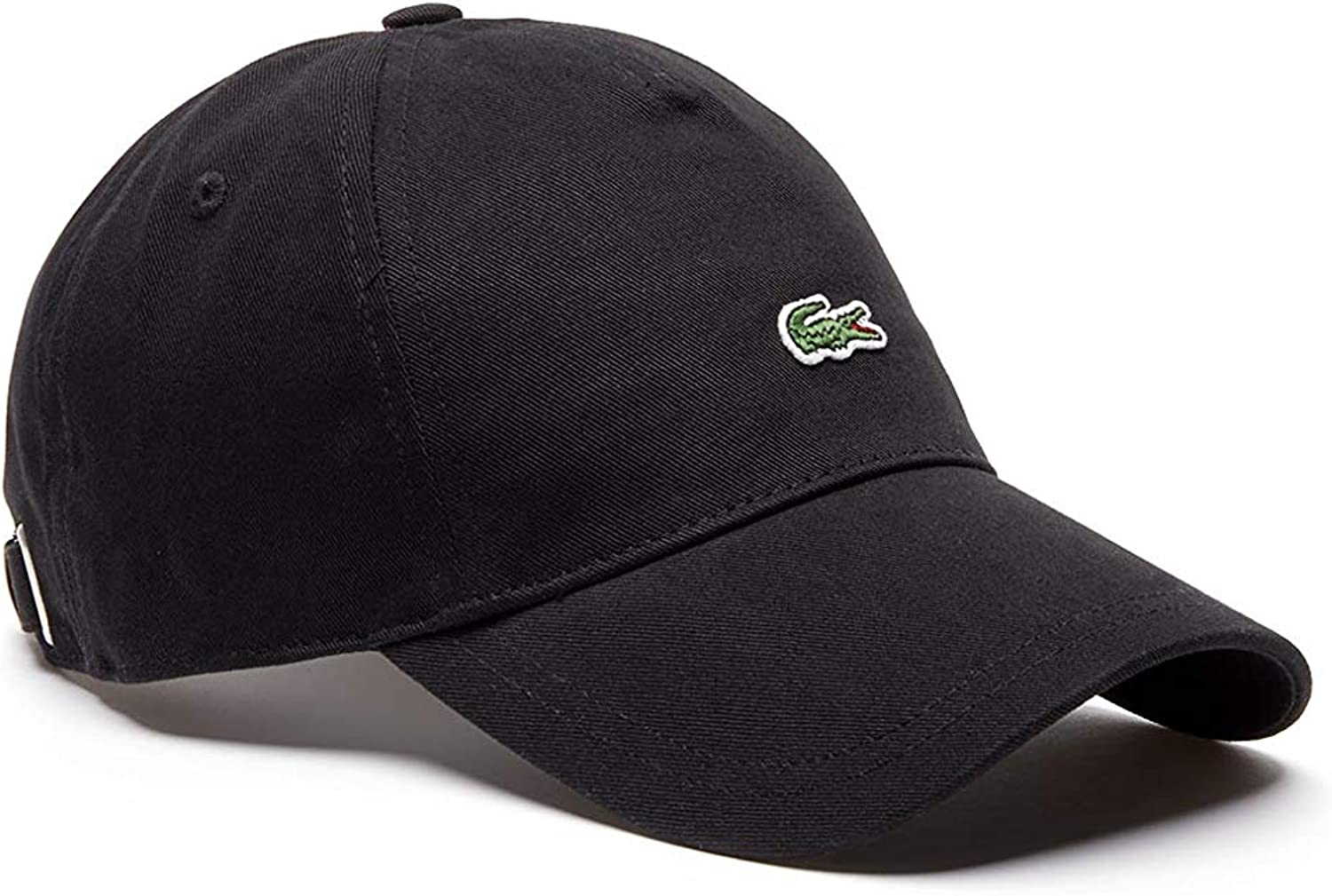 Lacoste Mens Embroidered Crocodile Cotton Cap