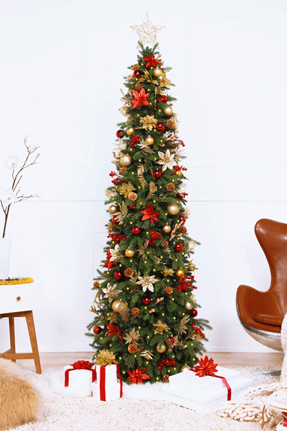Christmas Tree Setup.Easy Treezy Prelit Christmas Tree Easy Setup Storage In 60 Seconds 5 5ft Realistic Natural Douglas Fir Pre Lit Artificial Tree With Led Lights
