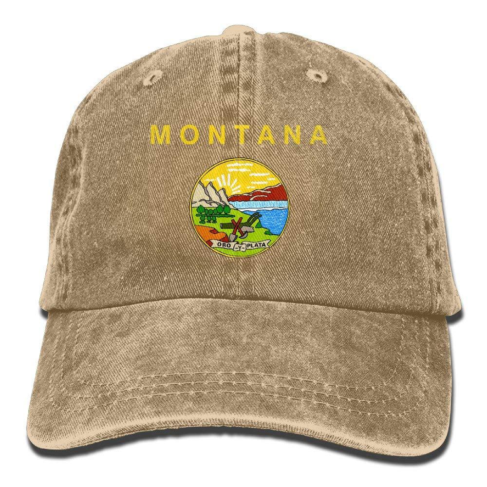 Rghkjlp Montana Flag Elegante Denim Béisbol Gorras Ajustables ...