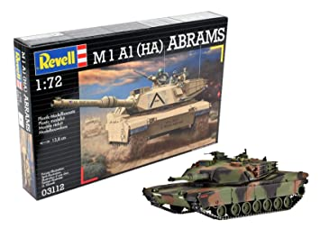 Revell- Maqueta M 1 A1 (HA) Abrams, Escala 1:72 (03112 ...