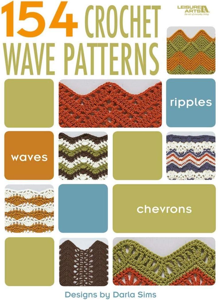 B00188CGQ4 Leisure Arts 4312 LEA4312 Crochet Wave Pattern Bk 71rDjDXOFoL
