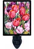 Floral / Flower Night Light - Melody of Spring - Tulips - LED NIGHT LIGHT