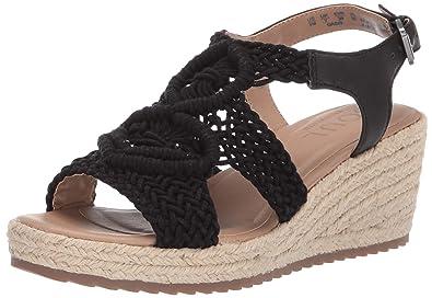 6f46d09adbd5 Amazon.com  Natural Soul Women s Oasis Wedge Sandal  Shoes