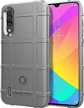 ZDXX-PC Compatible con el Estuche Xiaomi Mi 9 Lite, Funda Protectora táctica de TPU de Armadura sólida Gruesa para Xiaomi Mi 9 Lite (Gris): Amazon.es: Hogar
