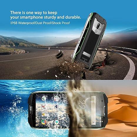 6GO RAM+64GO ROM 4G LTE Téléphone Portable Incassable,OUKITEL WP5000  Smartphone débloqué 5,7 Pouces (ratio 18 9) FHD+ Ecran,Android 7.1 Helio  P25 Octa Core ... 78c37484107