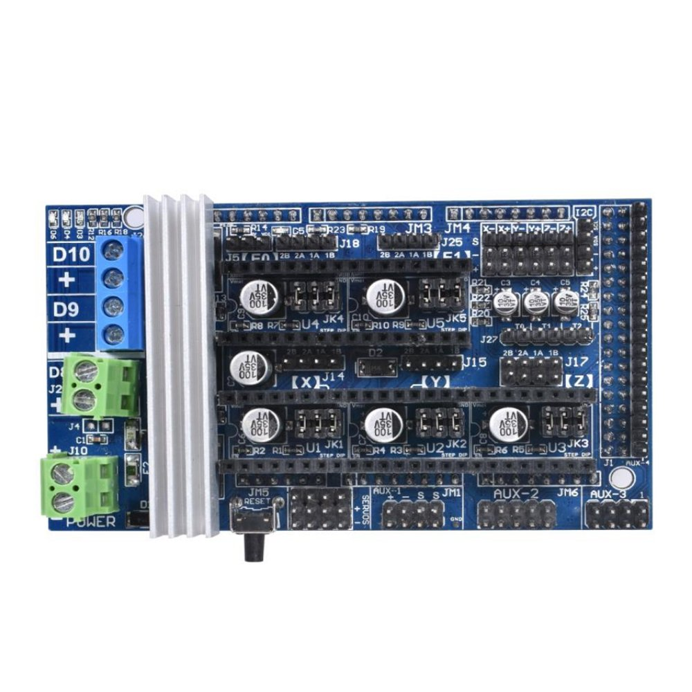 PoPprint Ramps1.6 Board Upgraded Ramps1.5 Ramps1.4 Controller Expanding board for 3D Printer
