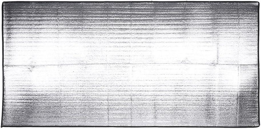 aluminio, goma EVA, antihumedad, tama/ños: 1/x 2/m//1,5/x 2/m//2/x 2/m Alfombra de suelo para tienda de campa/ña Yosoo