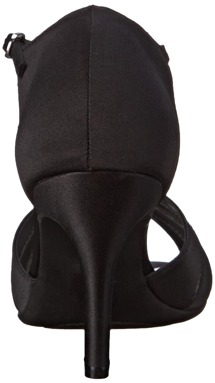 Dyeables, Inc Inc Dyeables, Damenschuhe - Martina Damen schwarz Satin 55b39a