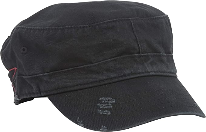 BDU Inspired Low Profile Short Bill Adjustable Cap Hat,