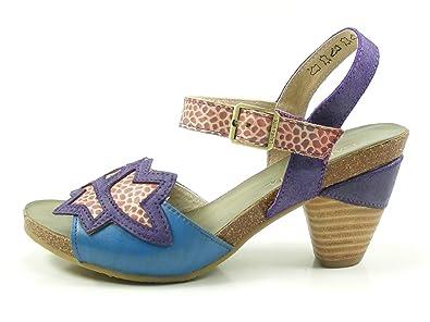 Laura Vita SL235 10 DAX 10 Schuhe Damen Sandalen Sandaletten