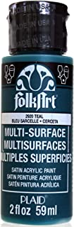 product image for FolkArt Multi-Surface Paint in Assorted Colors (2 oz), 2920, Teal