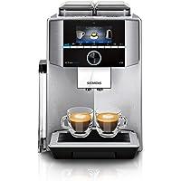Siemens TI9578X1DE EQ.9 plus connect s700 helautomatisk kaffemaskin personanpassning, 2 bönbehållare, kvarnar, extra…