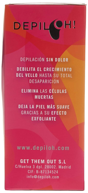 Máquina de Depilación Natural con Efecto Exfoliante, Color Blanco - 113 gramos: Amazon.es: Salud y cuidado personal