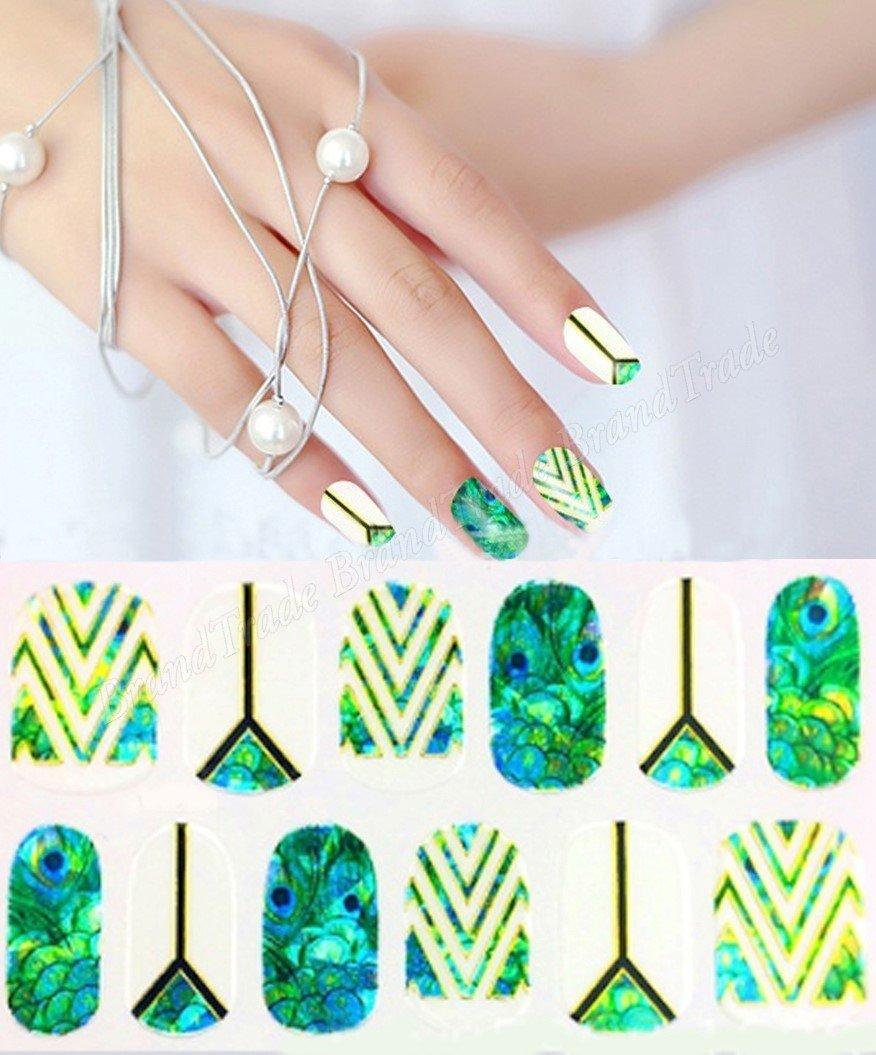 Bandes de vernis à ongles pour manucure Formes Autocollant pour Ongles BrandTrade
