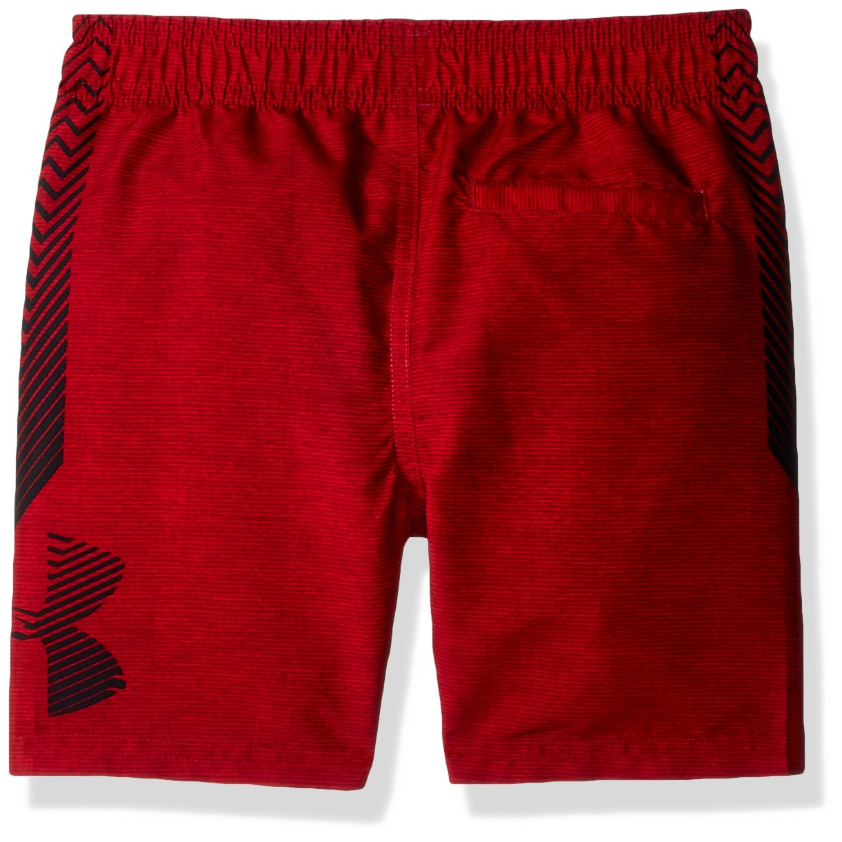 Under Armour Big Boys' Volley Swim Trunk, Americana Red, Small by Under Armour (Image #2)