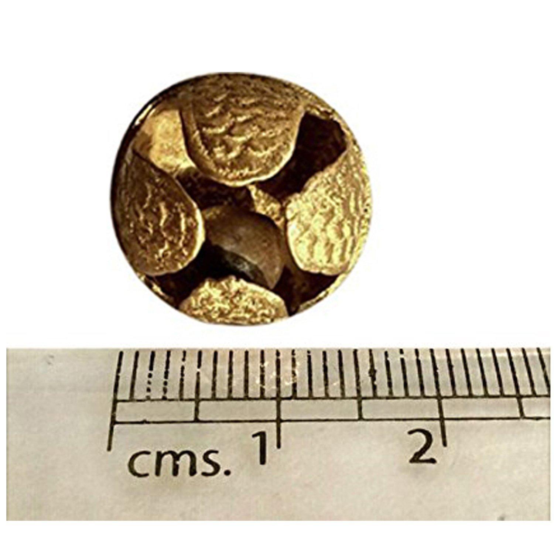 Ghungroo 25 Bell Pair 1.6 cm, Kathak Ghungru 25 Bells - Dancing Bells Anklets Ghungroo Kathak anklet women dance accessories