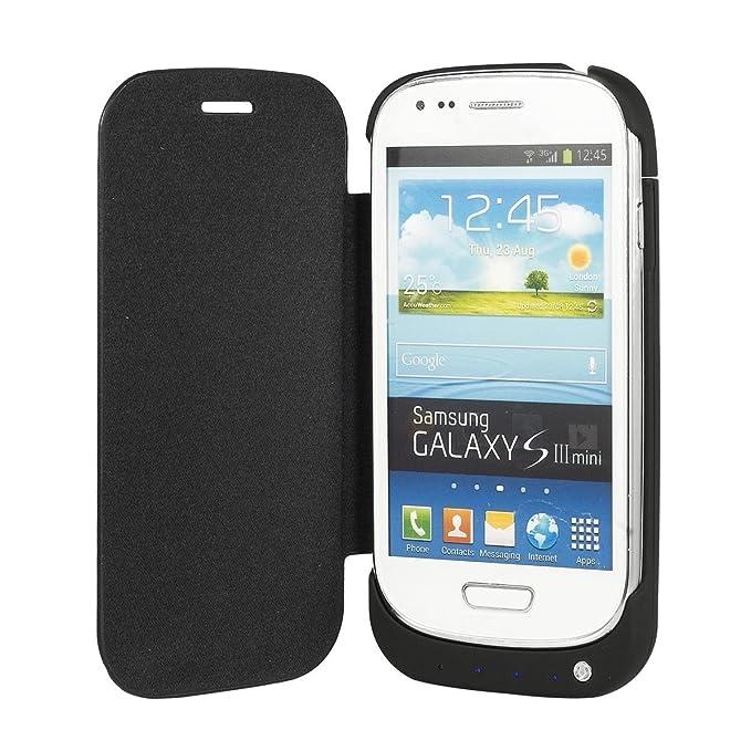 2000MAH Carcasa Protectora con Carga Bateria Externa para Samsung Galaxy S3 Mini i8190 BC161B