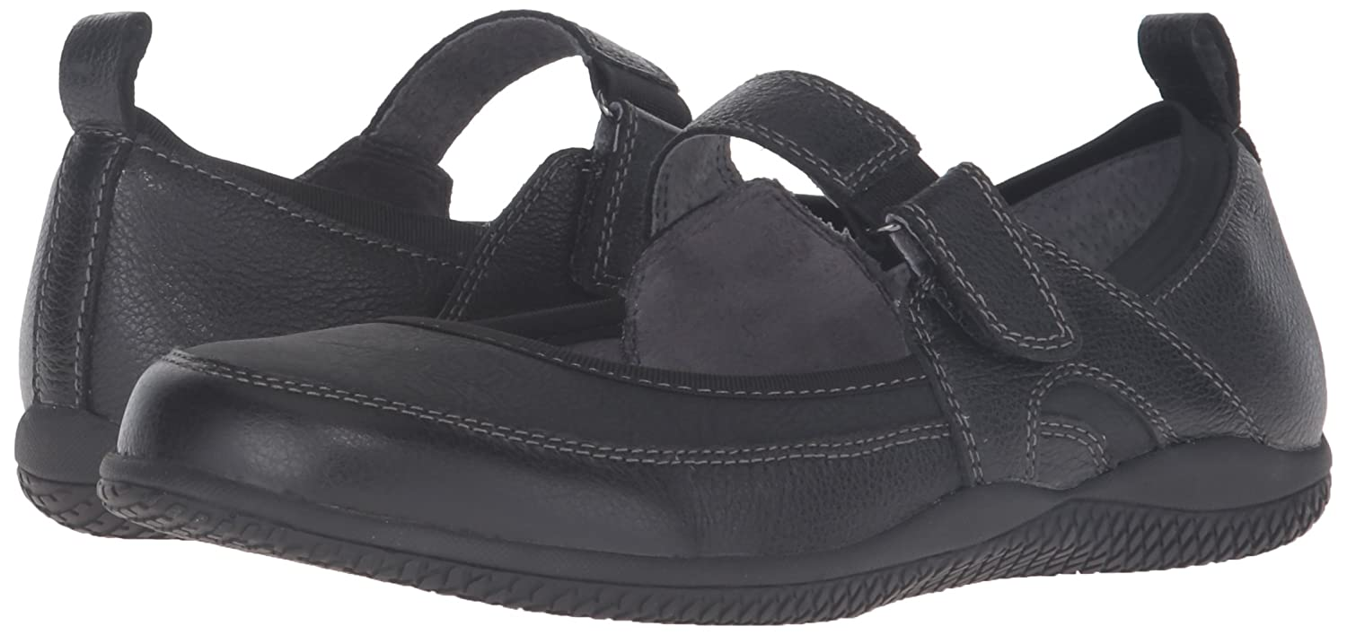 SoftWalk Women's Haddley Mary Jane Flat B019RJOD7U 5 B(M) US|Black