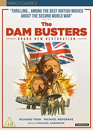 The Dam Busters [DVD] [2018]: Amazon co uk: Michael Redgrave
